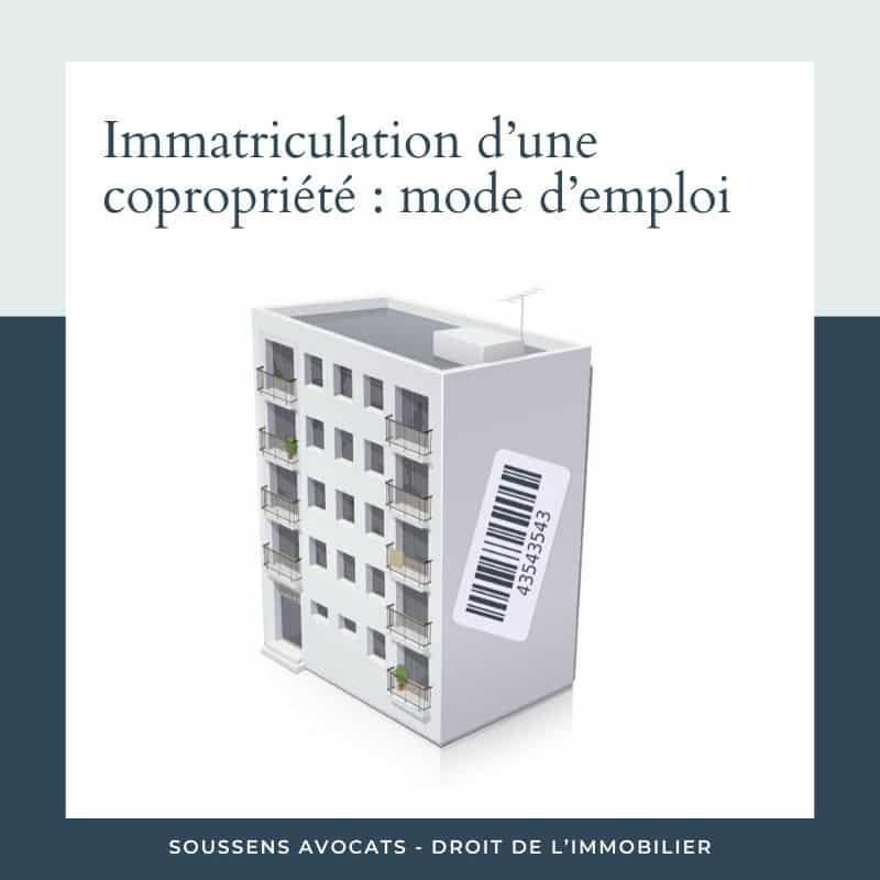 Read more about the article L'immatriculation d'une copropriété : mode d'emploi