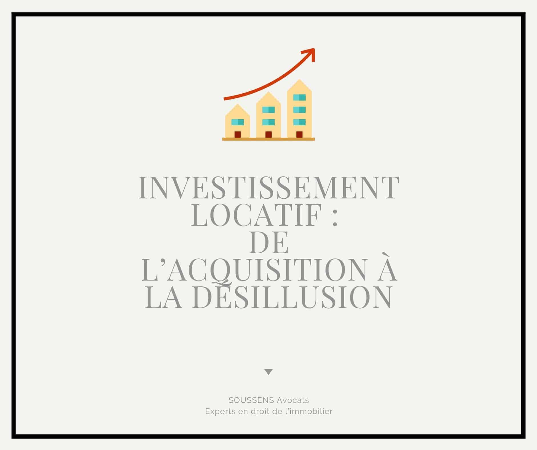 You are currently viewing Investissement locatif : de l'acquisition à la désillusion