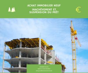 Read more about the article VEFA : inachèvement et suspension du prêt