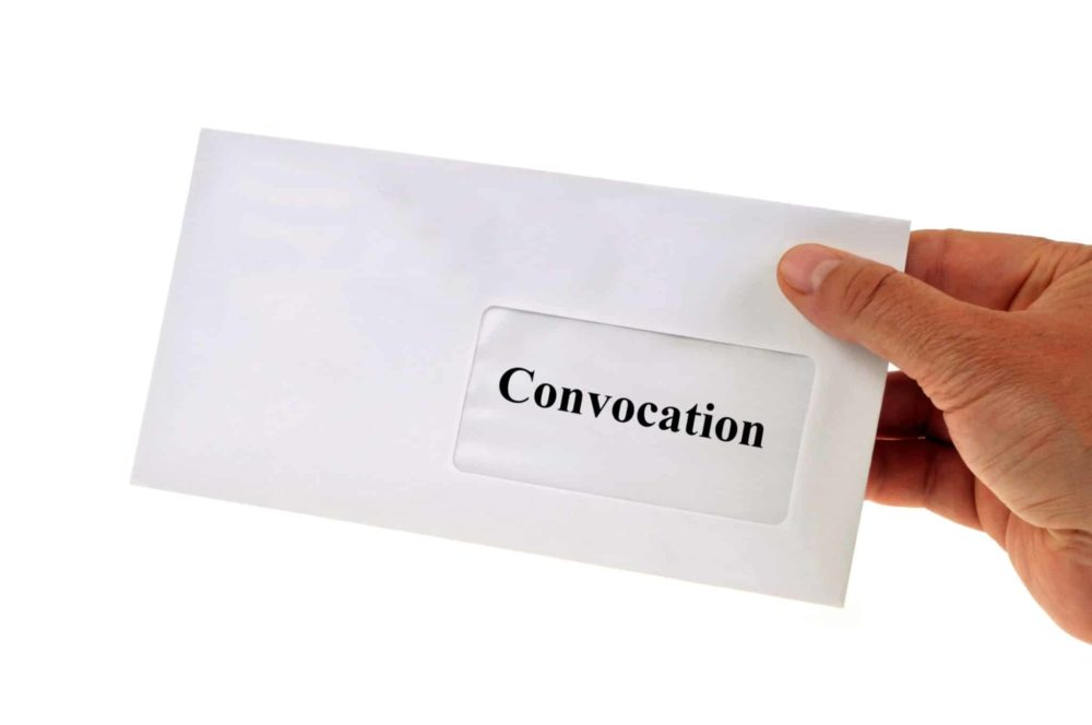 You are currently viewing La convocation à l'Assemblée générale de copropriété