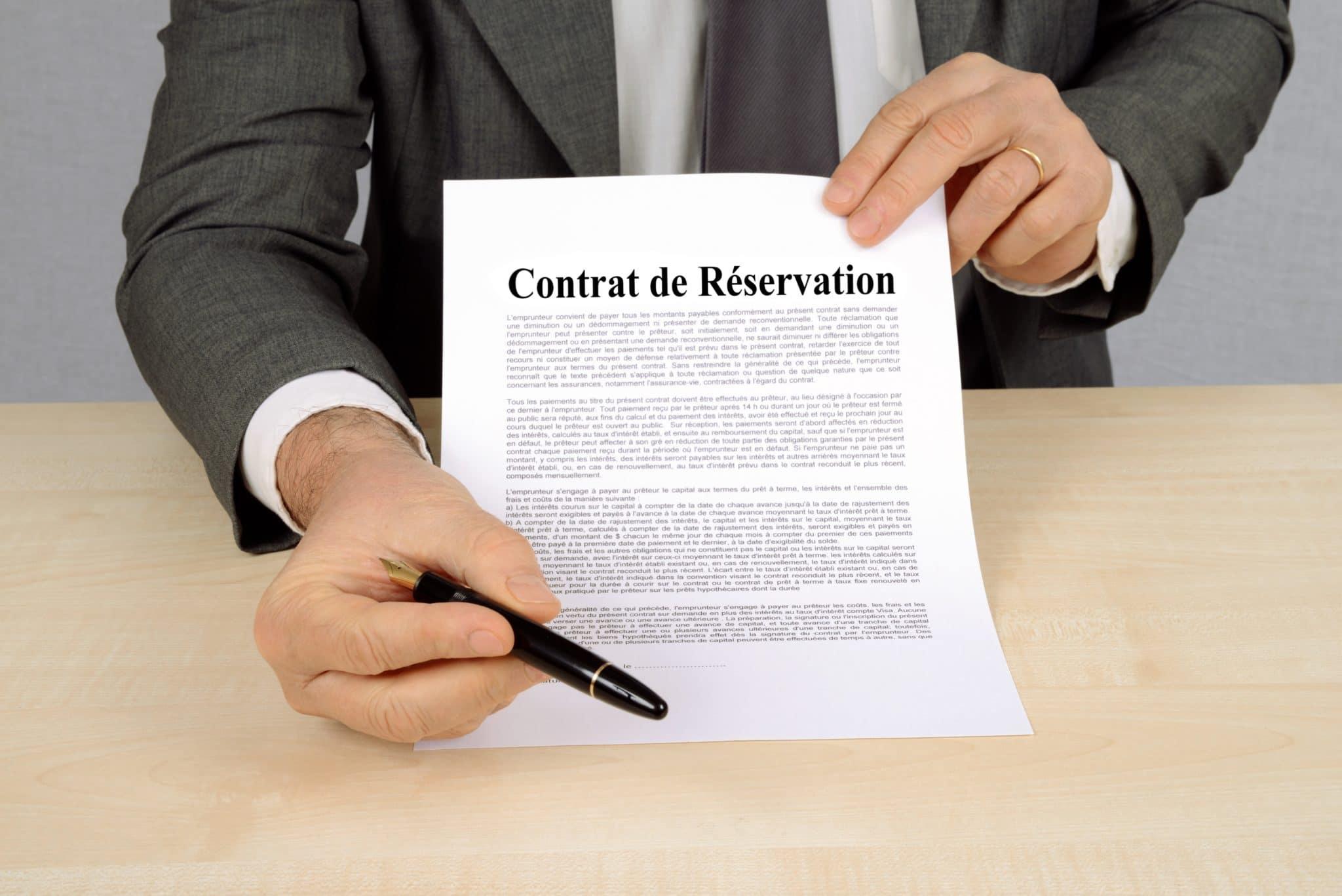 You are currently viewing Tout savoir sur le contrat de réservation en VEFA