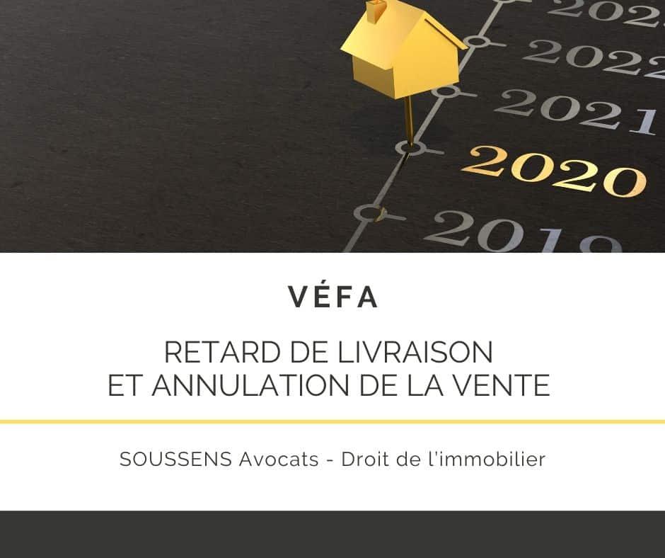 Read more about the article Le retard de livraison : un motif pour annuler une VEFA